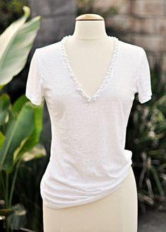 neckline - modify t-shirt