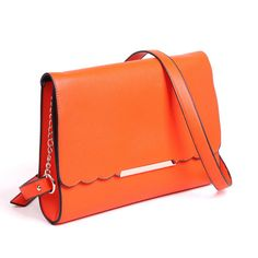 Korean version of the candy colored handbags