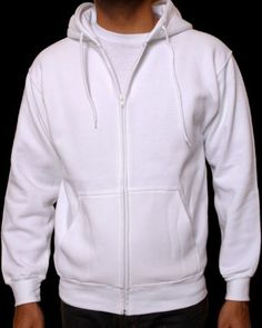 New-Mens-Hoodie-Full-Zip-Up-Sweatshirt-Hooded-Hoodie-Eco-Lightweight-Fleece