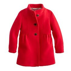 Girls' stadium-cloth marquee coat J-crew