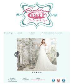 nytt nettside design. :) www.sjuls.com #web #New #site Day Work, Wedding Dresses, Design, Fashion, Bride Dresses, Moda, Bridal Gowns, Wedding Dressses, La Mode