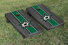 Dallas Stars NHL Cornhole Game Set Onyx Stripe Version *** See this great product.