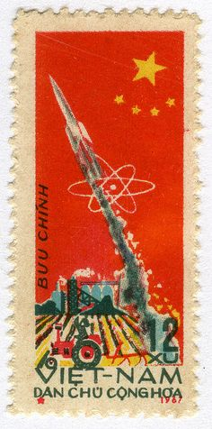 N. Viet Nam 469 - Launch of the 1st Chinese Ballistic Missile