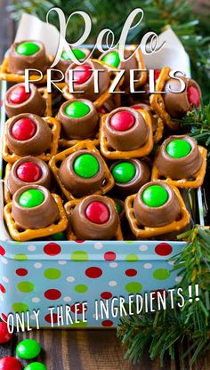Sweets Recipes, No Bake Desserts, Easy Desserts, Cookie Recipes, Delicious Desserts, Christmas Cookie Exchange, Christmas Sweets, Christmas Recipes, Christmas Cookies