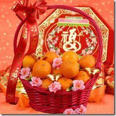 basket mandarins
