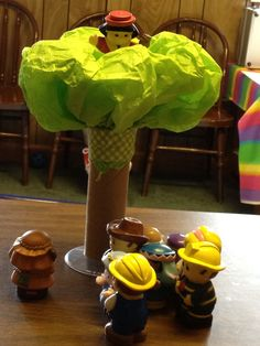 Fun with Zacchaeus- this would be a cute table activity
