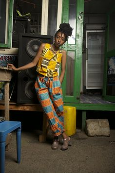 CIAAFRIQUE ™ | AFRICAN FASHION-BEAUTY-STYLE: Morning Crush: Yevu Clothing