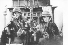 1st Battalion, 9th Marines sitting in a church (thewalkingdead.org)