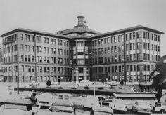 The Royal Brisbane Hospital (year unknown).