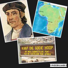 In 1487 wordt Bartolomeus Diaz door de Portugese koning er op uitgestuurd om de westelijke kust verder in kaart te brengen. Ook moet hij het rijk van de priesterkoning Johannes vinden en zoeken naar een weg over zee naar Indië. Februari 1488 bereikt hij het meest zuid-westelijkste punt van Afrika. Ook wel kaap de goede hoop genoemd. Dit werd zo genoemd omdat ze hoopten dat een weg over zee naar India nu snel gevonden zou worden.