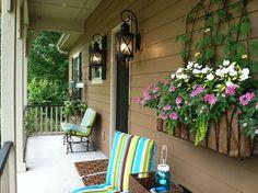 Exterior traditional porch