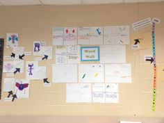 Genetics vocabulary word wall