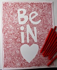 Art journal inspiration - paisley, doodles.