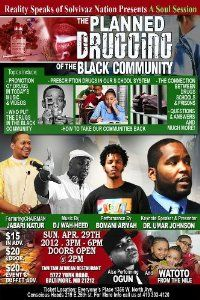 Dr. Umar Johnson - The Planned Drugging of the Black Community DVD: CLICK TO READ MORE