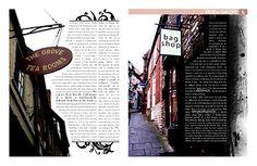 She Set the Bar ;: Magazine Layouts