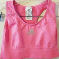 Adidas pink clima cool sports bra New without tags Adidas Intimates & Sleepwear Bras