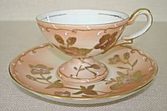 Occupied Japan Demi Cup & Saucer