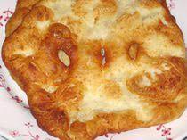 Hungarian Fried Bread - Langos