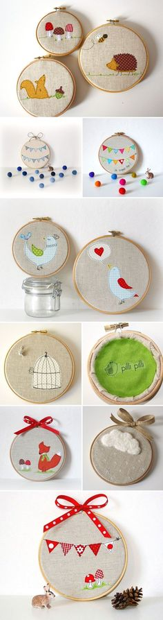 Adorable embroidery