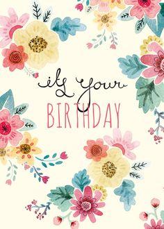 Its-your-birthday-floral.jpg 800×1.120 píxeles
