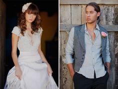 Spanish Bridal Fashion + Mexican Pastels  http://greenweddingshoes.com/spanish-bridal-fashion-mexican-pastels/