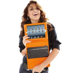 Blue tooth key board for ipad in snappy colors