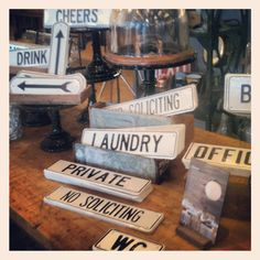 Portland Store: Say what you need to say with our made-in-Portland signs