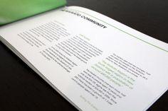 Environment Waikato Annual Report by Raewyn Brandon, via Behance