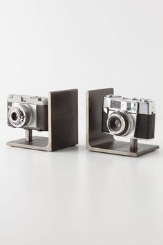 Vintage Camera Bookends #anthropologie