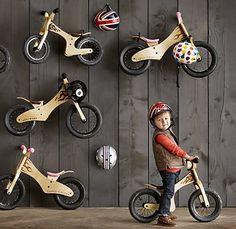 Cool-rich kid early rider bike... Restoration Hardware