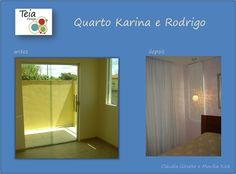 Projeto da Teia Design, elaborado por Monika Kick e Cláudia Gieseke - Quarto Casal