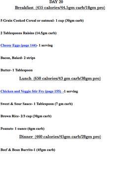 Easy Diabetes Diet Plans and Menus