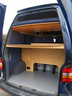 LWB rear child double bunk option - lower option would be good for storage and separating wet/dry kit.