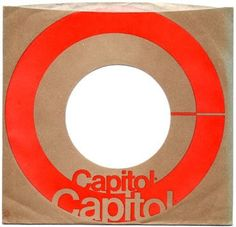 (Above) The design for this A&M record sleeve uses a dynamic graphic of typographic circles. (Above) COED Records. 45 Records, Capitol Records, Vinyl Records, Music Logo, Vinyl Music, Vintage Records, Vintage Music, Vintage Logos, Bob Marley