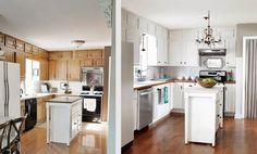 Küchenfronten aufpeppen ~ Küchenfronten austauschen vorher nachher beispiele küche