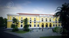 D build up and flythrough of Intendencia by Animation1.