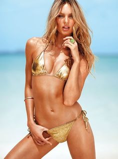i want a gold swimsuit...#want