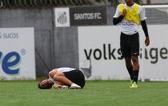Luiz Felipe treina pela primeira vez no Santos; Elano sai carregado de treino  http://santosjogafutebolarte.comunidades.net/seu-placar-de-santos-x-mogi-mirim