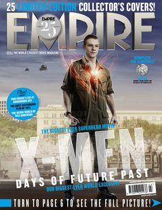25 'X-Men: Days of Future Past' Empire Magazine Covers -- Lucas Till as Havok