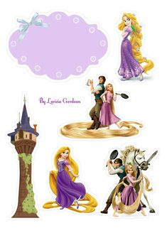Disney Rapunzel, Bolo Rapunzel, Tangled Rapunzel, Rapunzel Birthday Party, Tangled Party, Disney Princess Party, Baby Birthday, Diy Party Frame, Disney Scrapbook