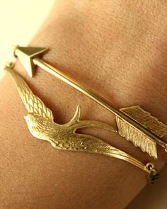 Arrow and Sparrow Bracelet