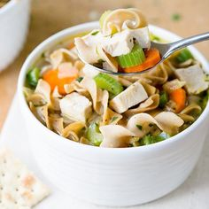 There's nothing like your grandma's chicken noodle soup for a classic bowl of comfort food when [...]