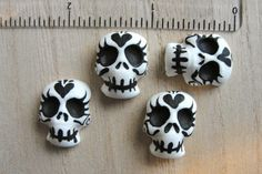 lil' skulls clay idea