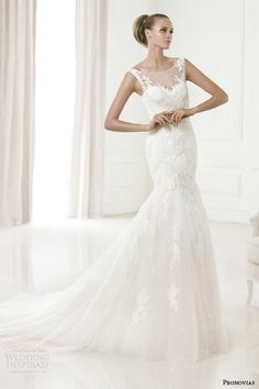 Pronovias 2015 Pre-Collection Wedding Dresses