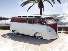 Never thought I would see a dope vw bus
