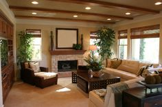 country living rooms | If pictures of warm, cozy country living rooms tug at your heart, yet ...