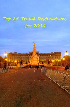 The #Top 25 #Travel #Destinations as voted on a very famous review site is in for #2014. See who is in and who has fallen off the list.