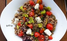 Το Ελληνικό Χρέος στη Γαστρονομία: Μια super σαλάτα με ένα super food! - Σαλάτα με φαγόπυρο Superfoods, Cobb Salad, Salads, Gluten Free, Cooking Recipes, Beef, Drinks, Happy, Glutenfree
