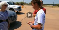 This 15 Yr Old Boy Gave An Elderly Woman $700. The Reason Behind It Will Make You Cry.