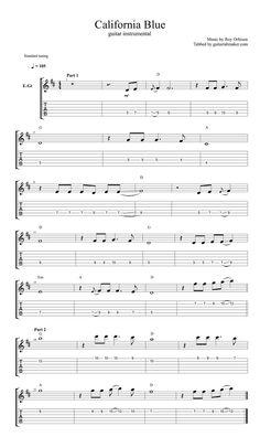 blues guitar sheet music pdf